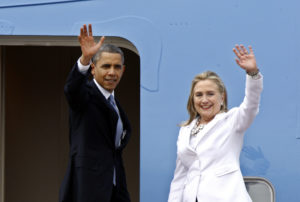 Will President Barack Obama do a Gerald Ford for Hillary Clinton? /EPA