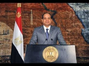 Egyptian President Abdul Fatah Sisi