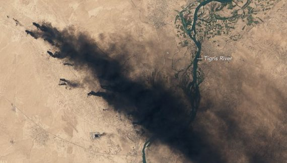 Retreating ISIL wrecks what's left of Iraq's environmental quality of life
