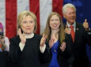 The IRS has led the Clinton Foundation slide while going after others, such as Tea Party groups. /Reuters