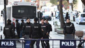 Turkish anti-terror police
