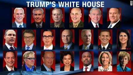 Trump lines up team of strong leaders to replace Washington technocrats