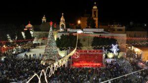 Christmas eve in Bethlehem, 2012.