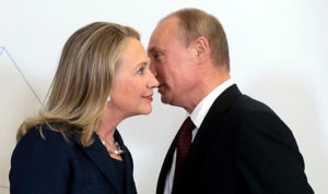 Hillary Clinton, while secretary of state, approved the sale of vital U.S. uranium to companies with ties to Moscow.