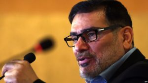 Ali Shamkhani serves on Iran's Supreme National Security Council.