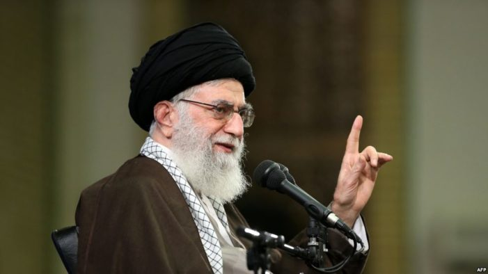 Khamenei blasts British Prime Minister for her charge that Iran poses regional threat
