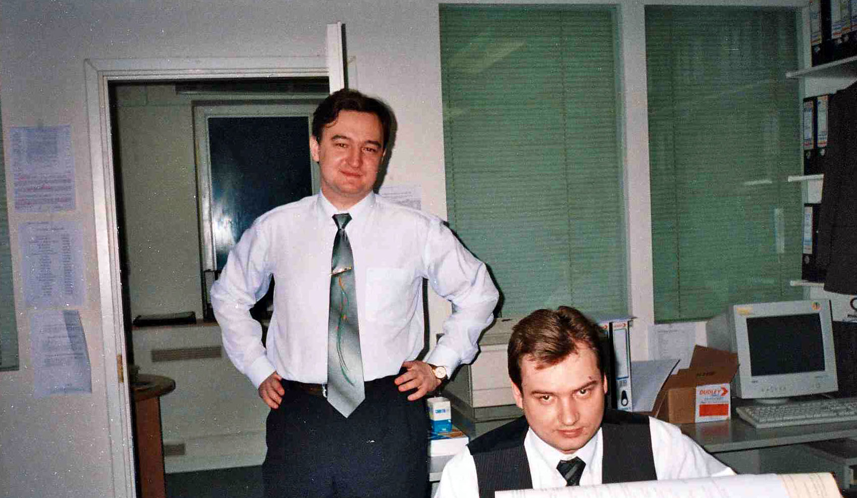 Lawyer Sergei Magnitsky, left, died in Russian pretrial detention in 2009. President-elect Donald Trump has signaled a less-strident U.S. posture on rights in Russia.