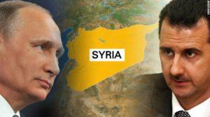 Russian President Vladimir Putin and Syrian President Bashar Assad. /Getty Images