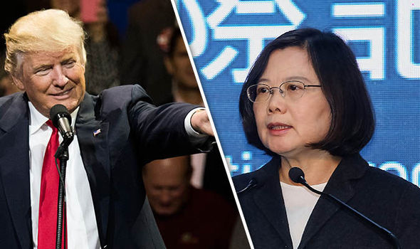 Trump's call with Taiwan sparks international crisis . . . with U.S. 'experts' on China