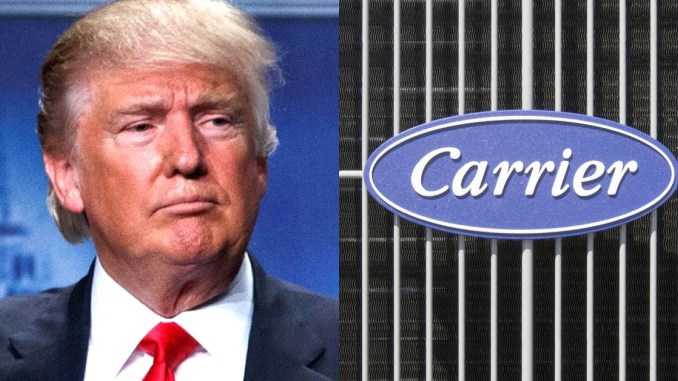 Trump saves American jobs even before taking office and guess who's not happy