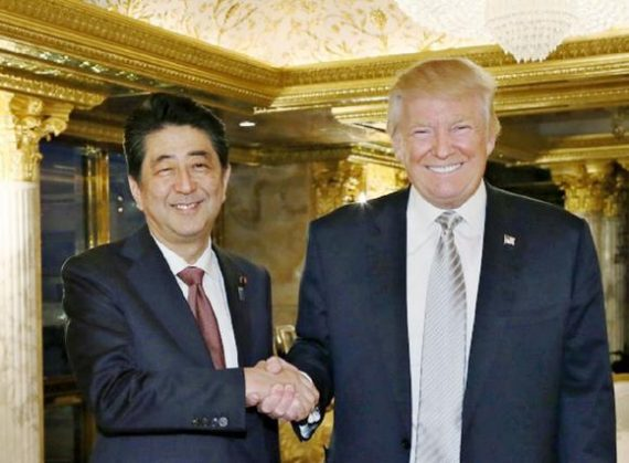 Donald Trump's meeting with Japan Prime Minister Shinzo Abe last month should have sent an early signal to Beijing that a change in U.S. policy could be coming.