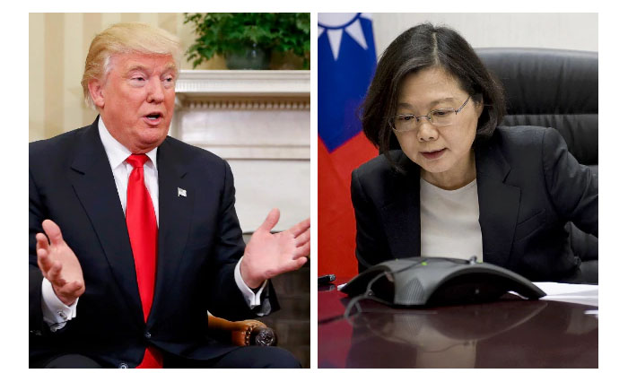 Strategic surprise: With Dec. 2 Taiwan call, Trump challenges China's breakout from containment