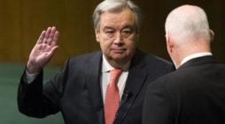 65 million migrants worldwide are among issues facing new UN Secretary General Antonio Guterres