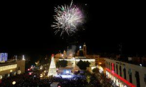 Christmas in Bethlehem. /Reuters