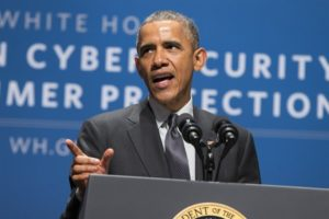 'The United States under Obama has been disarmed against Russian, Chinese, and other nations' cyber gunslingers.' /AP