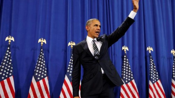 Remember him? Obama blames Bush for rise of ISIL in final national security speech