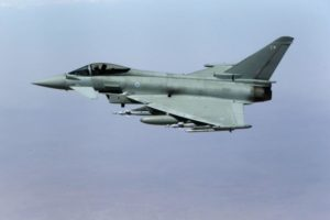 British Royal Air Force Typhoon. /Reuters