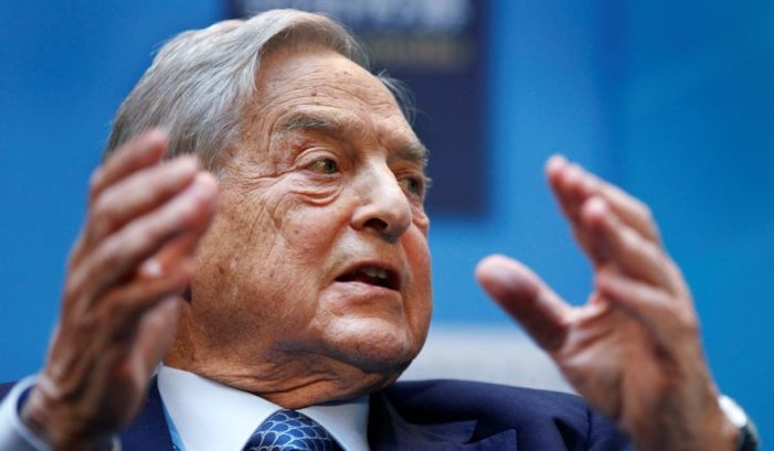 Report: Hedge fund czar Soros bet against Trump in late 2016 and lost big