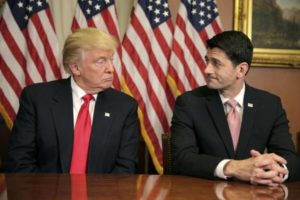 President-elect Donald Trump with House Speaker Paul Ryan. /Reuters