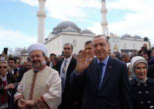 President Recep Tayyip Erdogan, and Turkey's Religious Affairs Chief Mehmet Gormez. /AP