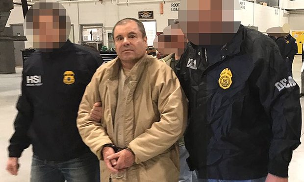 Meanwhile, in N.Y., 'El Chapo' faces a 17-count indictment . . . and a bill for the wall?