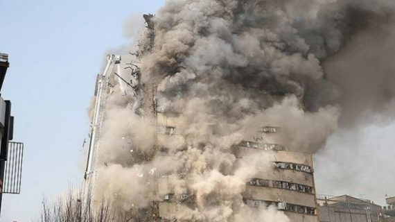 'Like a horror movie': At least 20 firefighters dead after Teheran tower collapse