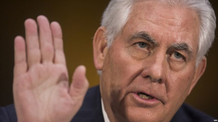 Tillerson backs 'full review' of Iran nuclear deal