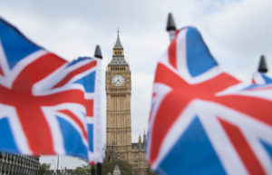 Britain's economy grew by 2.2 percent last year.