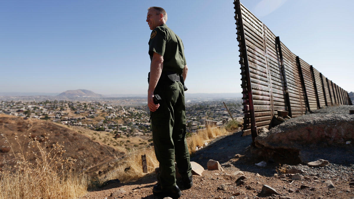 a profule overview of the organization the us border patrol