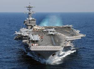 USS George H.W. Bush. /U.S. Navy photo