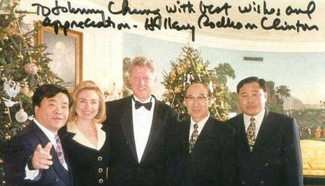 Johnny Chung went into hiding, feared for life after confessing to illegal fundraising for Clintons