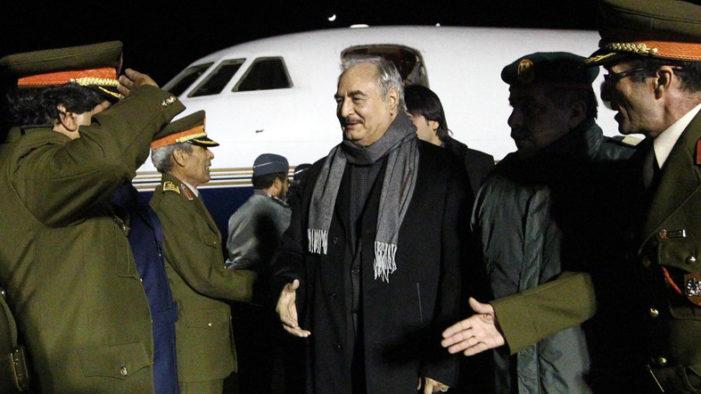 Gen. Haftar's troops hit base in central Libya; rival forces clash in Tripoli