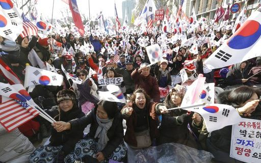 Angered by media bias, older Koreans emerge as new, pro-U.S. political force