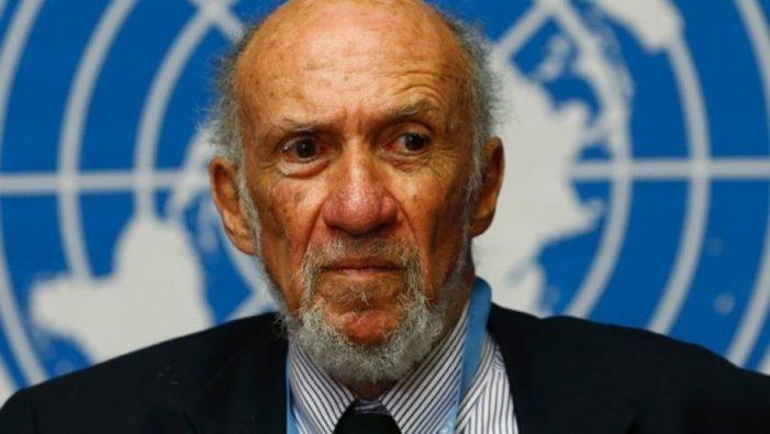 U.S. ambassador demands UN withdraw report calling Israel 'apartheid' state