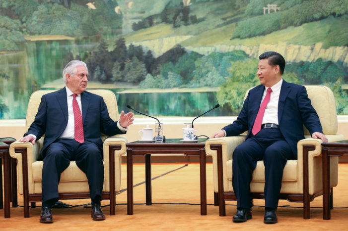 Who blinked? Tough talk on Asia tour earns Tillerson warm reception in Beijing