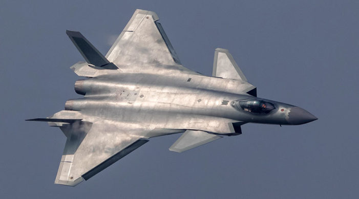 China stealth fighter enters service as Beijing vows to narrow gap with U.S.