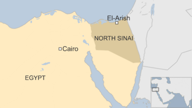Jihadist bombs kill 10 Egyptian officers and soldiers in the Sinai