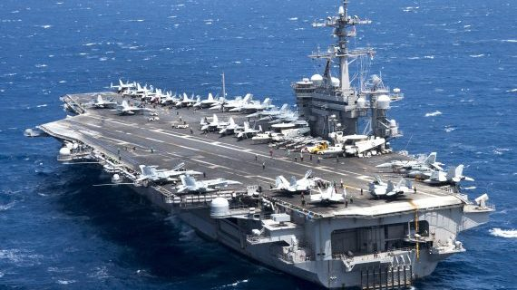 Korea watch: U.S. sends 2 carrier groups and B-1Bs, expedites THAAD deployment