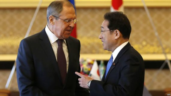 Amid China-backed turbulence, Japan and Russia hold talks in Tokyo