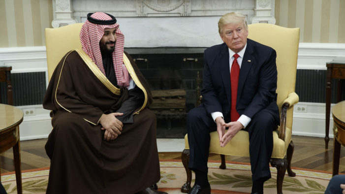 Report: Saudi deputy crown prince failed to sway Trump White House