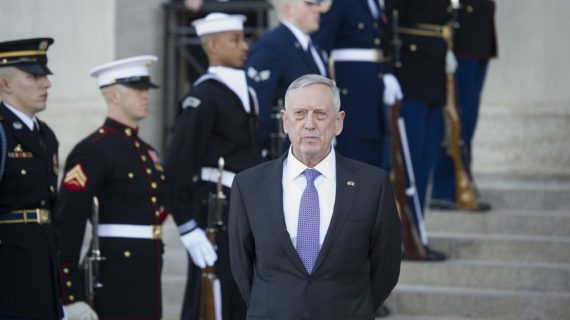 Report: Mattis memo raises issue of U.S. navigation near fight with Houthis in Yemen