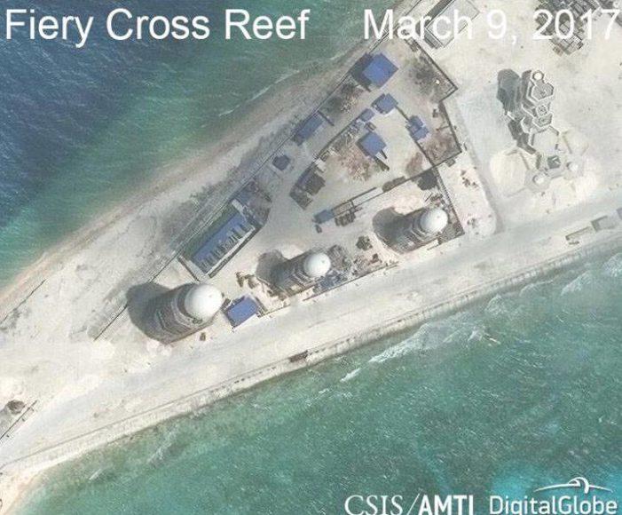 Report: China finalizing militarization of artificial islands