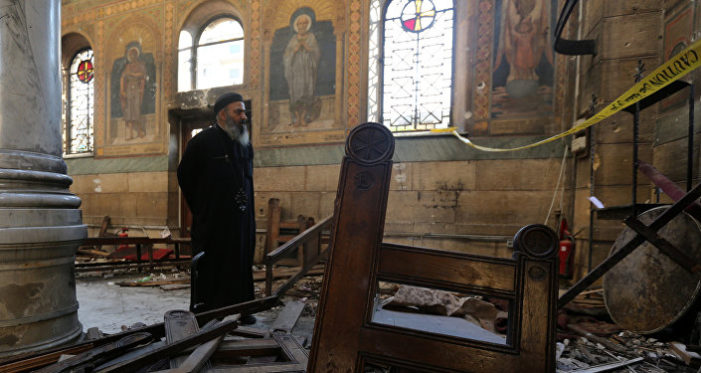 ISIS claims responsibility for Palm Sunday church attacks in Egypt