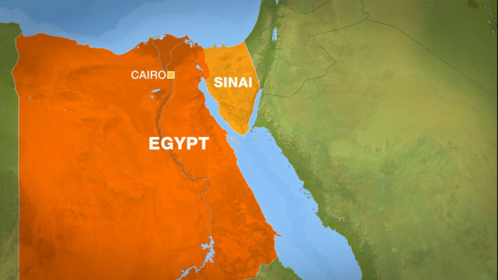 Egypt airstrikes in Sinai kill 19 ISIS jihadists, including top leaders