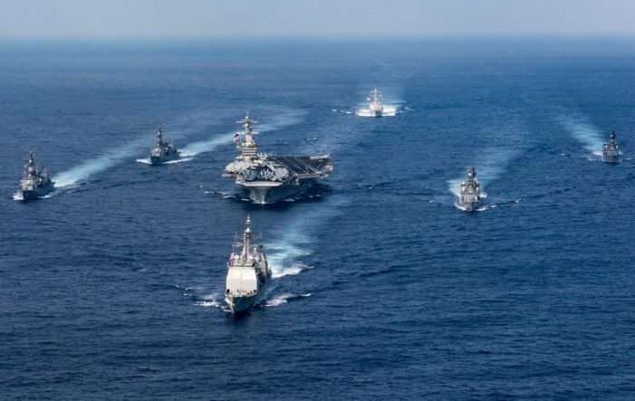 U.S. carrier group reverses course, heads for Korean peninsula