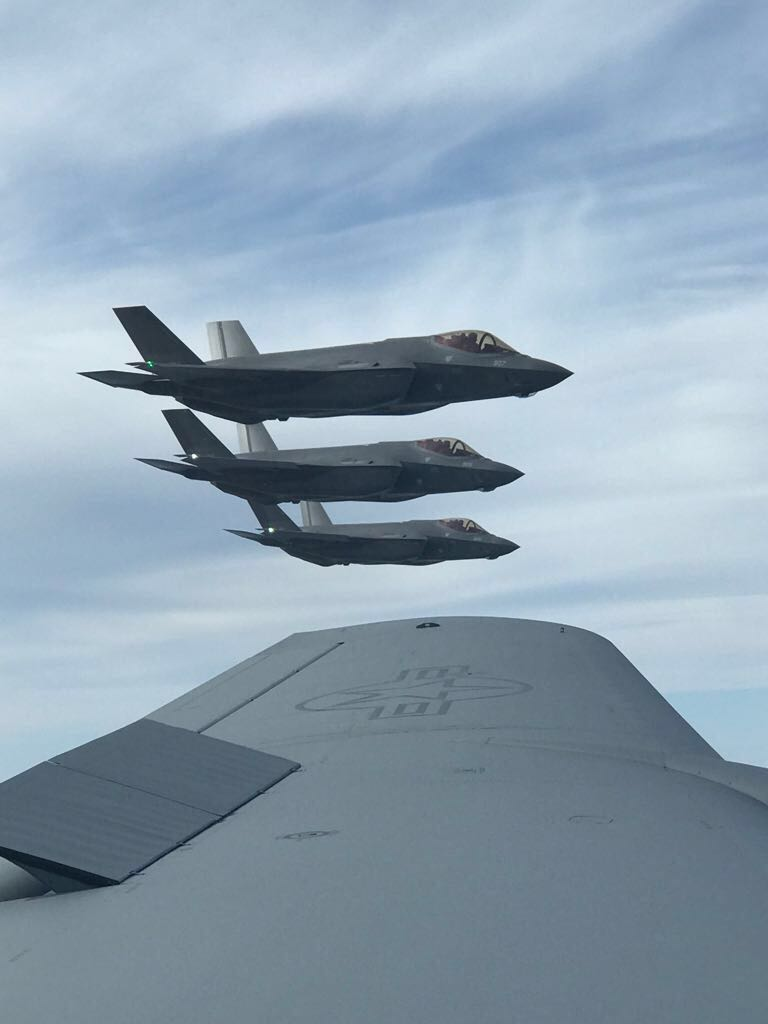F35 stealth fighter jets take to UK skies despite cost fears