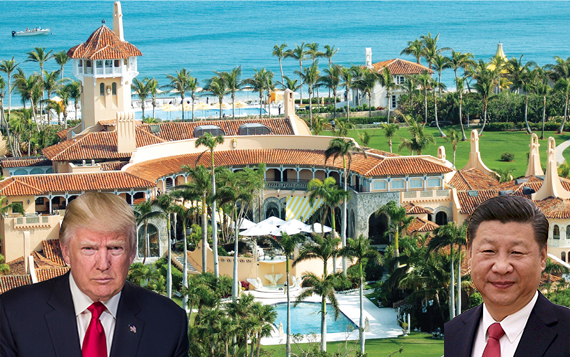 Mar-a-lago menu: THAAD and Kim Jong-UN; Powerpoints and hot air