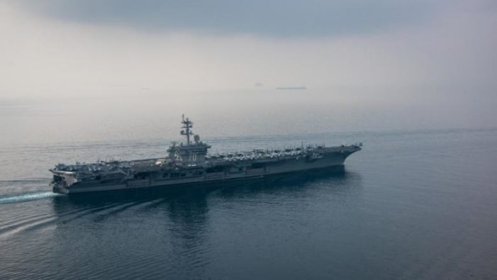 N. Korea threatens to sink U.S. aircraft carrier 'with a single strike'