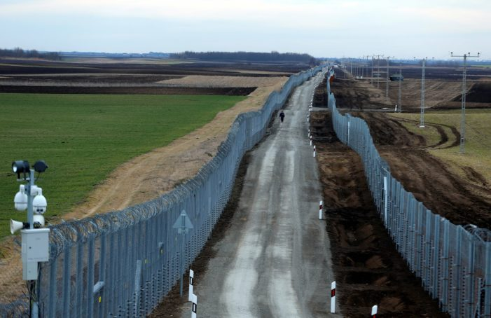 'They don't even try': Hungary's new border fence called 'spectacular success'