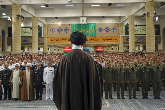 Report: Iran conducting massive military buildup with funds from nuclear deal